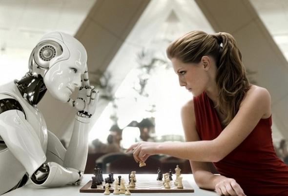 human vs robot 09